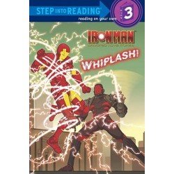 Ironman Armored Adventures : Whiplash - Level 3 Reader