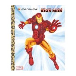 The Invincible Iron Man: A Little Golden Book