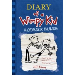 Diary of a Wimpy Kid - Rodrick Rules (Paperback)