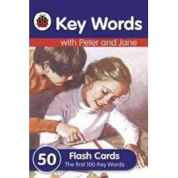 Key Words with Peter and Jane - 50 Flash Cards
