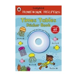 Homework Helpers Times Tables Sticker Book plus CD