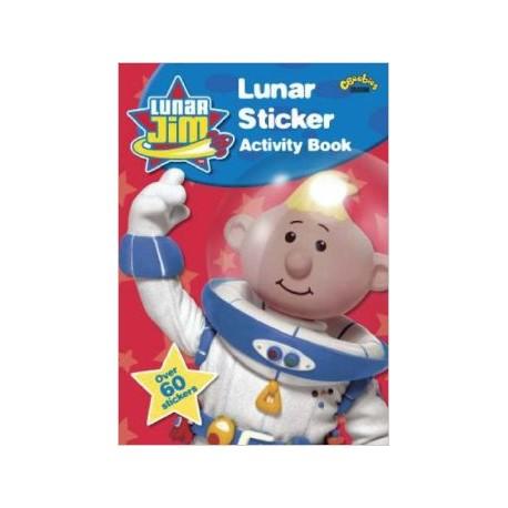 Lunar Jim Sticker Activity Book