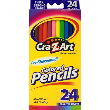 Cra-Z-Art Sharpened Color Pencils