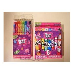Sugar Rush - Candy Scented Twistable Crayons