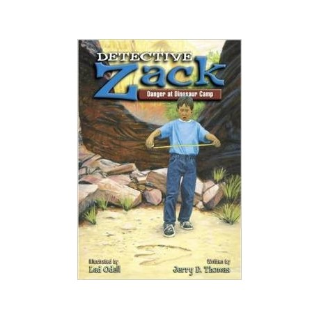 Detective Zack - Danger at Dinosaur Camp
