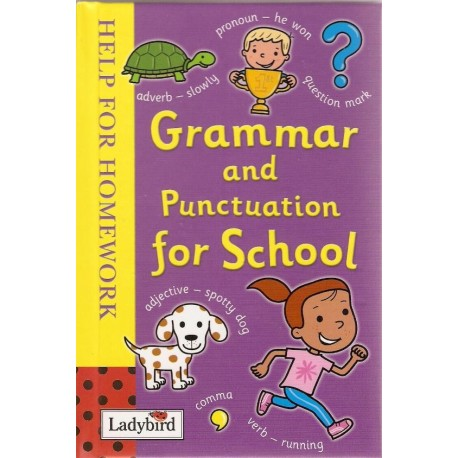 Grammar and Punctuation for School (Help for Homework)