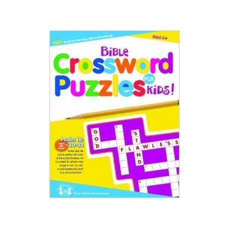 Bible Crossword Puzzle for Kids