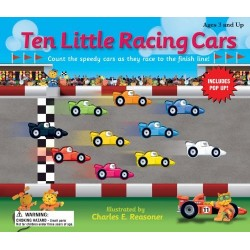 Ten Little Racing Cars