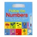Follow The Numbers (A Wipe and Clean Book with Pen)