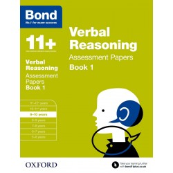 Bond 11+: Verbal Reasoning: Assessment Papers: 9-10 Years Book 1